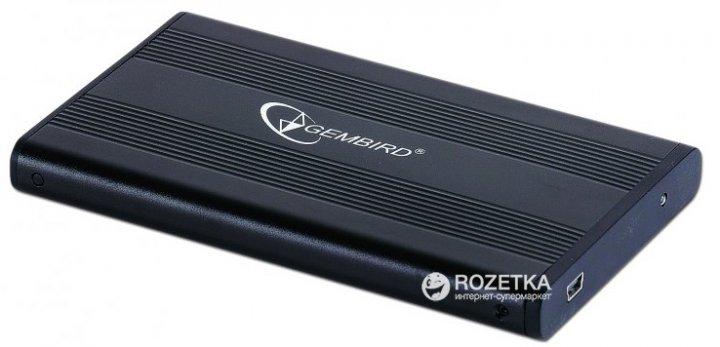 """Зовнішній карман Gembird для HDD 2.5"""" USB 2.0 (EE2-U2S-5) - зображення 1"""