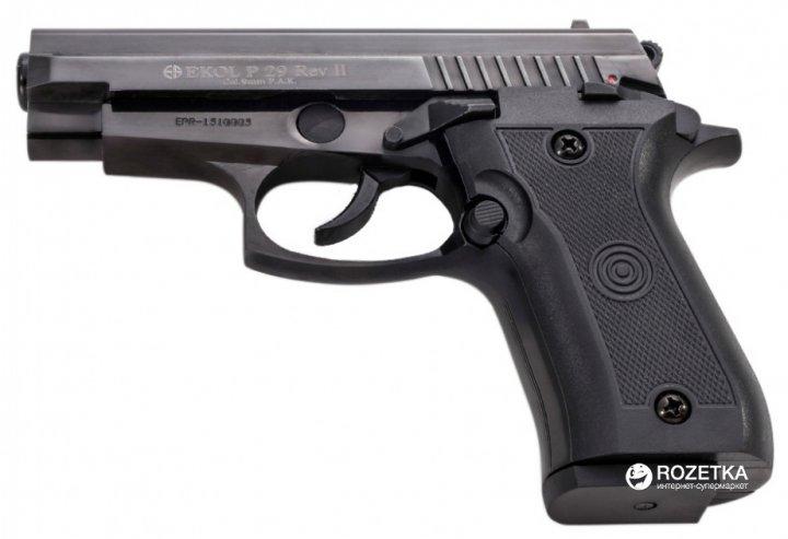 Стартовий пістолет Ekol P-29 Rev II Black (25318) - зображення 1