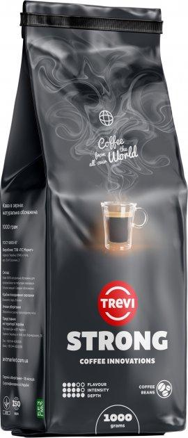 Кава в зернах Trevi Strong 1 кг (4820140050156) - зображення 1