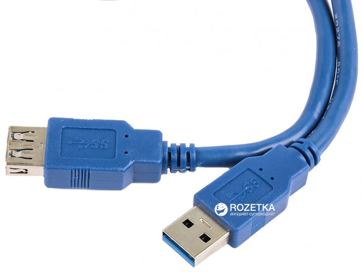 Кабель Ultra USB 3.0 AF - AM 0.5 м (UC211-0050) - зображення 1