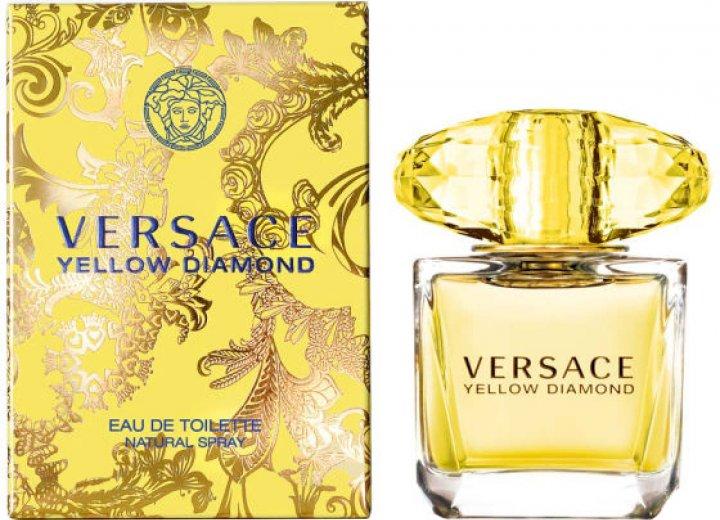 Туалетная вода для женщин Versace Yellow Diamond 50 мл (8011003804559) - изображение 1