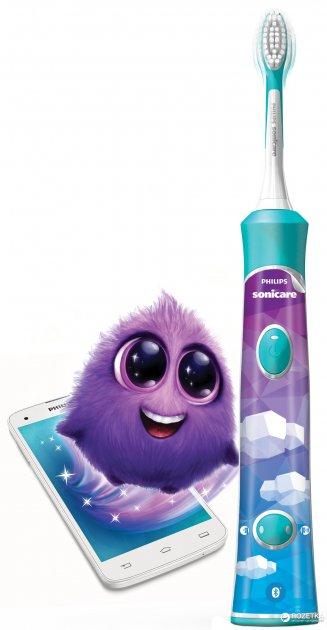 Электрическая зубная щетка PHILIPS Sonicare For Kids HX6322/04 - изображение 1