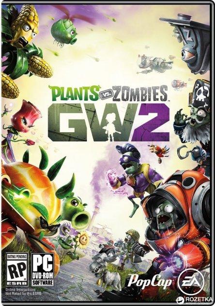 Plants vs. Zombies Garden Warfare 2 для ПК (PC-KEY, английская версия, электронный ключ в конверте) - изображение 1