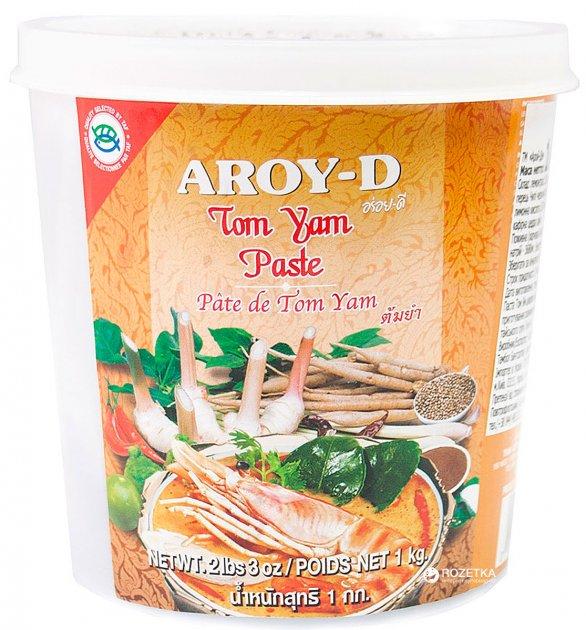 Паста Том Ям Aroy-D 400 г (016229906450) - изображение 1