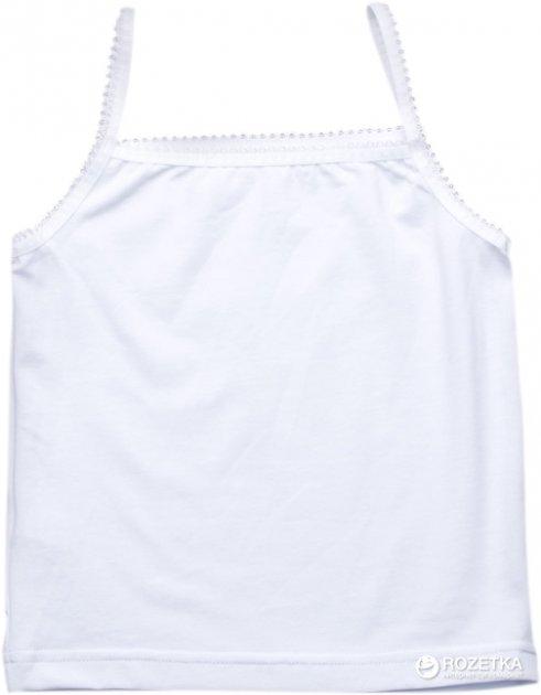Майка Модный карапуз 306-00005 134 см Белая (4821196860508) - изображение 1