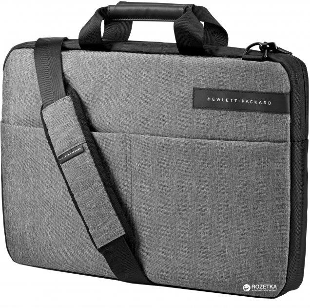 Сумка для ноутбука HP Signature 15.6'' Grey/Black (L6V68AA) - изображение 1