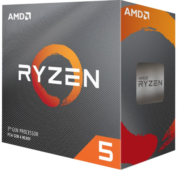 Процесор CPU AMD 6C/12T Ryzen 5 3600 3,6GHz-4,2GHz(Turbo)/32MB/65W (100-100000031BOX) sAM4 BOX - изображение 1