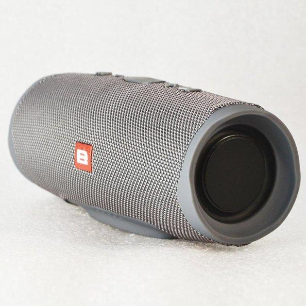 """Колонка Bluetooth """"B"""" Charge 4 Сірий - зображення 1"""