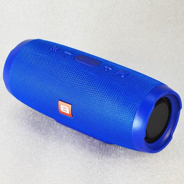 """Колонка Bluetooth """"B"""" Charge 3+ Синий - изображение 1"""