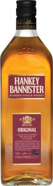 Виски Hankey Bannister Original 3 года выдержки 1 л 40% в коробке (5010509414081) - изображение 1