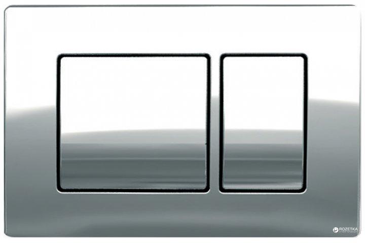 Панель смыва KOLLER POOL Kvadro Chrome - изображение 1