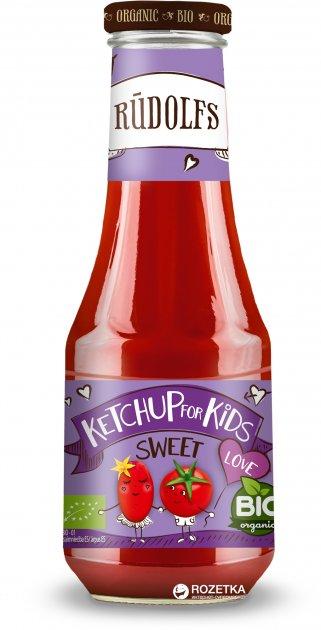 Соус томатный Rudolfs Сладкий для детей 320 г (4751017940822) - изображение 1
