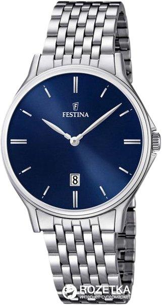 Чоловічий годинник FESTINA F16744/3 - зображення 1