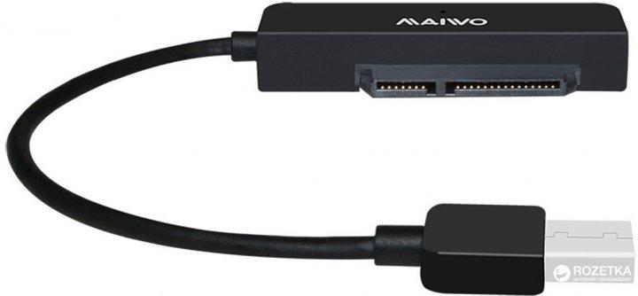 Адаптер Maiwo K104A USB 3.0 - SATA II/III - зображення 1