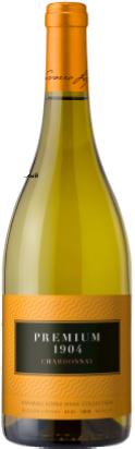 Вино Premium 1904 Chardonnay белое сухое 0.75 л 11.5% (8436043580568) - изображение 1