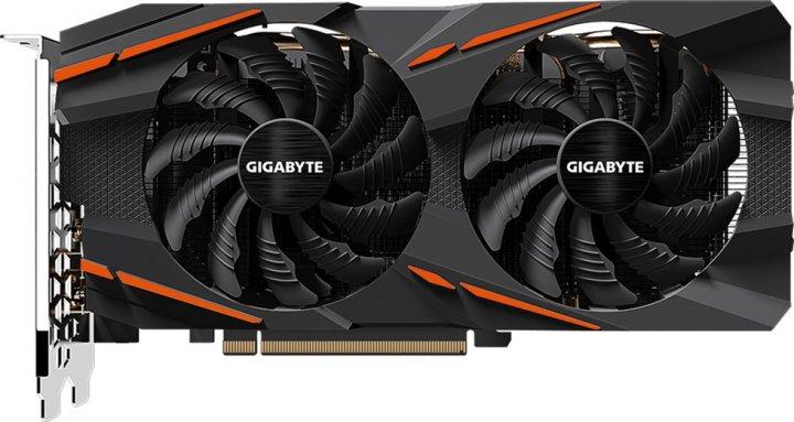 Gigabyte PCI-Ex Radeon RX 580 Gaming 8GB GDDR5 (256bit) (1340/8000) (HDMI, 3 x DisplayPort) (GV-RX580GAMING-8GD) - зображення 1