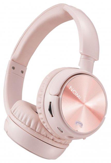 Навушники Nomi NBH-470 Rose Рожеві - изображение 1