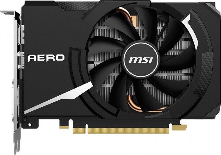 MSI PCI-Ex GeForce GTX 1650 Super Aero ITX OC 4GB GDDR6 (128bit) (1740/12000) (DVI, HDMI, DisplayPort) (GTX 1650 SUPER AERO ITX OC) - зображення 1