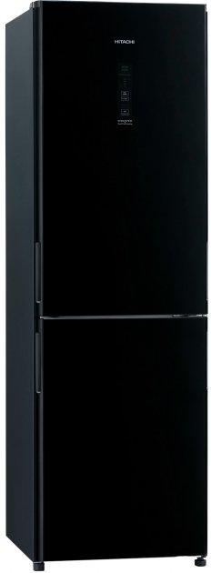 Двухкамерный холодильник HITACHI R-BG410PUC6XGBK - изображение 1