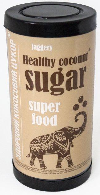 Сахар кокосовый Jaggery коричневый 400 г (4820143681951) - изображение 1