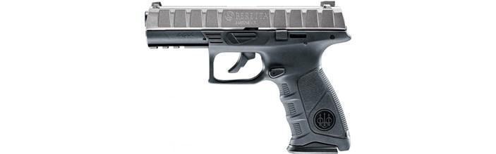Пневматичний пістолет Umarex Beretta APX Metal Gray - зображення 1