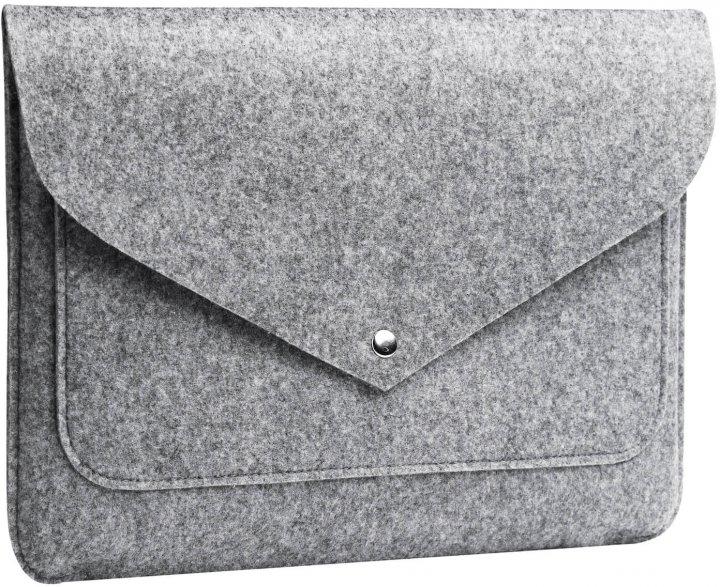 """Чохол для ноутбука Gmakin для MacBook Pro 13"""" Grey (GM07-13New) - зображення 1"""