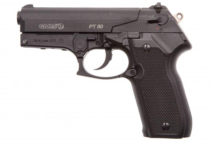 Пистолет пневматический Gamo PT-80 Gamo Черный - изображение 1