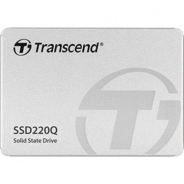 """Накопичувач SSD 2.5"""" 500GB Transcend (TS500GSSD220Q) - зображення 1"""