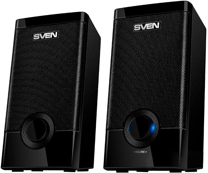 Акустична система Sven 318 USB Black - зображення 1