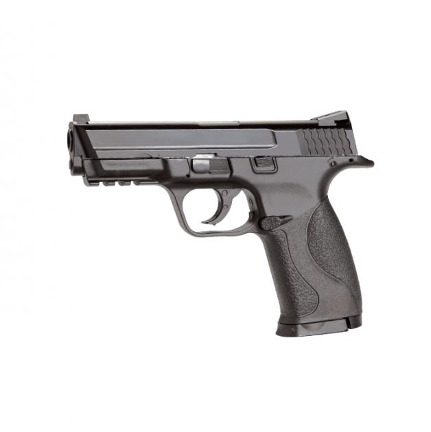 Пневматичний пістолет KWC Smith & Wesson M&P40 KM48DHN Сміт і Вессон газобалонний CO2 120 м/с - зображення 1