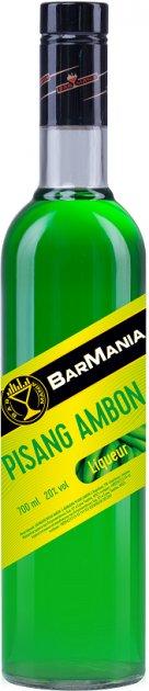Ликер BarMania Pisang Ambon Банан 0.7 л 20% (4820058967560) - изображение 1