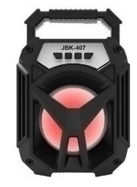 Портативна Колонка Bluetooth SPS JBK-407 Black - зображення 1