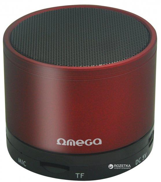 Акустическая система Omega Bluetooth OG47R Red - изображение 1