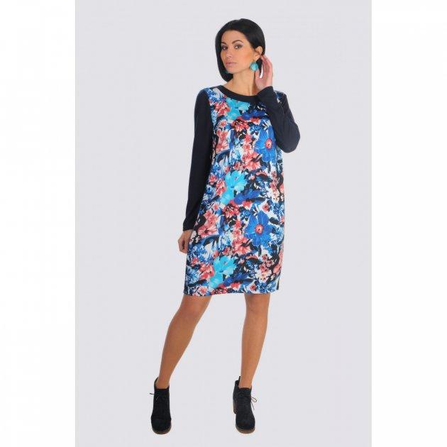 Платье Lila 51324 L синий - изображение 1