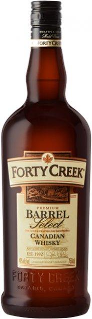 Виски Forty Creek Barrel Select 0.75 л 40% (69321003022) - изображение 1