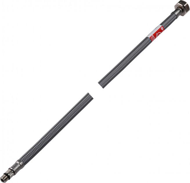 """Шланг Tucai для змішувача 0.4 м, 1/2""""хМ10-L17 коротка голка (антикорозія) - зображення 1"""