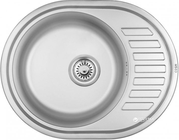 Кухонна мийка COSH 7112 ZS Polish 08 - зображення 1