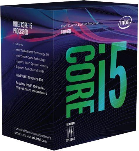 Процесор Intel Core i5-8400 2.8GHz/8GT/s/9MB (BX80684I58400) s1151 BOX - зображення 1