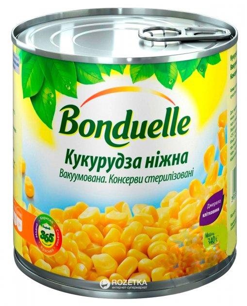 Кукуруза нежная Bonduelle вакуумированная 425 мл 3083680002875) - изображение 1