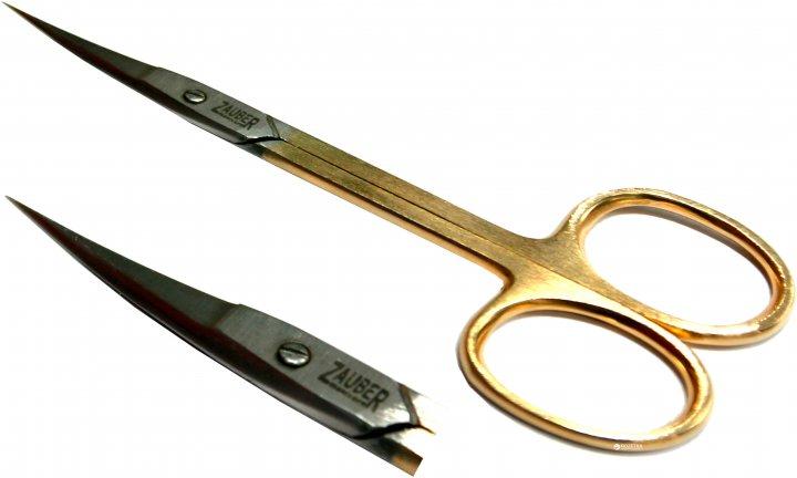 Ножницы маникюрные для кутикул Zauber-manicure 01-141GL (4004904001411) - изображение 1