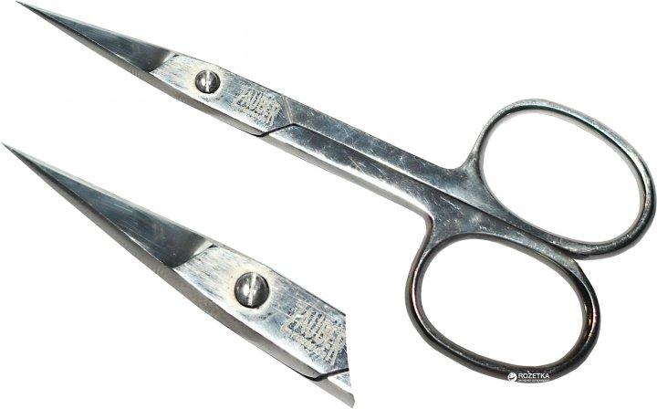 Ножницы маникюрные для ногтей прямые Zauber-manicure 01-172ПS (4004904401723) - изображение 1