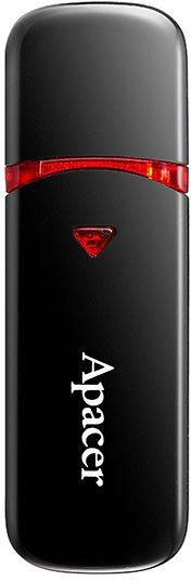 Apacer AH333 64GB Black (AP64GAH333B-1) - зображення 1