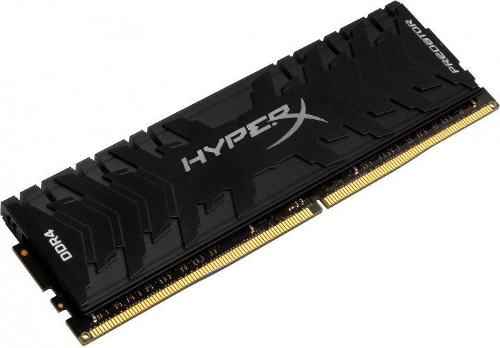 Оперативна пам'ять HyperX DDR4-3000 16384MB PC4-24000 Predator Black (HX430C15PB3/16) - зображення 1