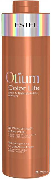 Делікатний шампунь Estel Professional Otium Color Life для фарбованого волосся 1 л (4606453046198) - зображення 1