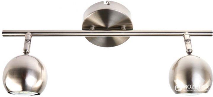 Светильник спот Brille HTL-185/2 GU10 PN (26-725) - изображение 1