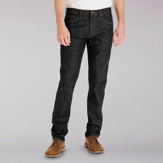 Вузькі чоловічі джинси Lee Modern Series - Lone Wolf 32-34 Темно-синій (2014149) - зображення 1