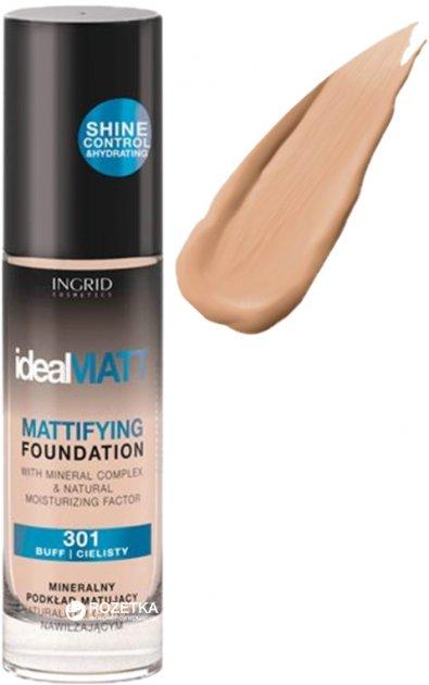 Тональний крем Ingrid Cosmetics Ideal Matt № 303 30 мл (5902026632652) - зображення 1