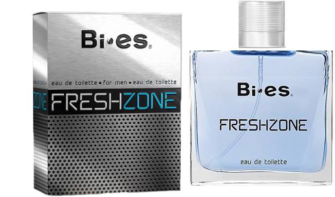 Туалетная вода для мужчин Bi-es Fresh Zone Bleu de chanel 100 мл (5905009040222) - изображение 1