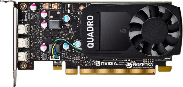 HP PCI-Ex NVIDIA Quadro P400 2GB GDDR5 (64bit) (3 x miniDisplayPort) (1ME43AA) - изображение 1