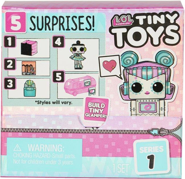 Игровой набор-сюрприз L.O.L Surprise! Tiny Toys Крошки (565796) - изображение 1
